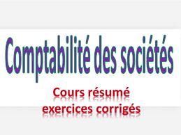 Comptabilité des Sociétés FCGE 1ère Année