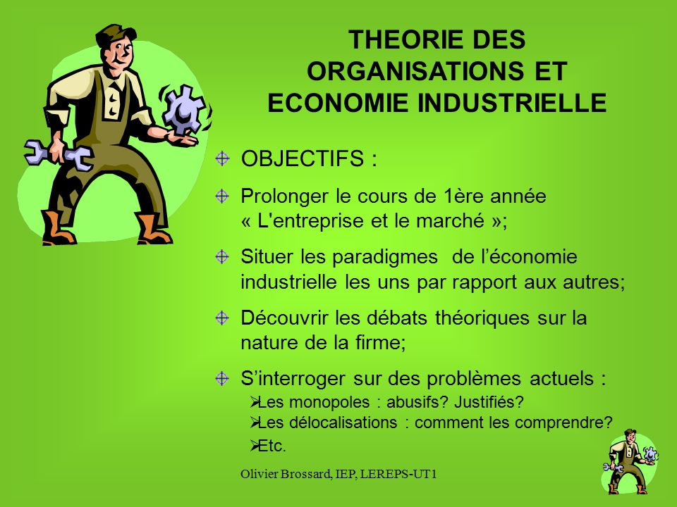 GESTION Option economie